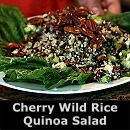 Cherry, Wild Rice & Quinoa Salad