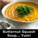Butternut Squash Soup... Yum!