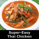 Super-Easy  Thai Chicken