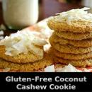 Super Easy Coconut Cashew Cookie