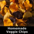 Make your own vegetable chips