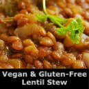 Sprouted Lentil Stew