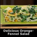 Colorful Orange Fennel Salad